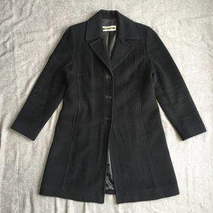 KRISTEN BLAKE Wool/Angora Blend Coat